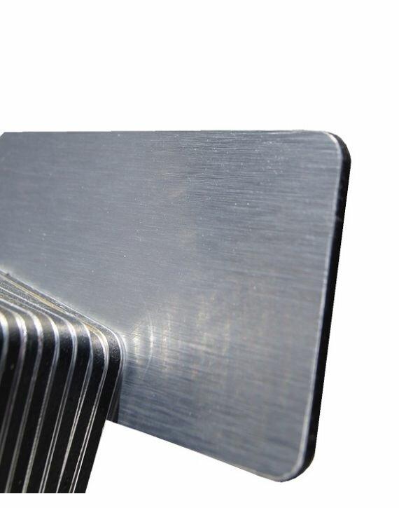 ACP/Dibond 3mm Srebrny Szczotkowany