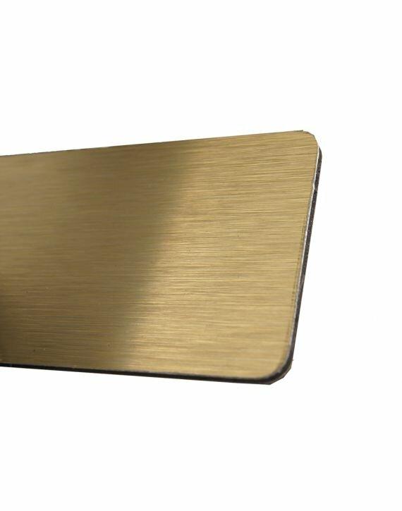ACP/Dibond 3mm Złoty Szczotkowany